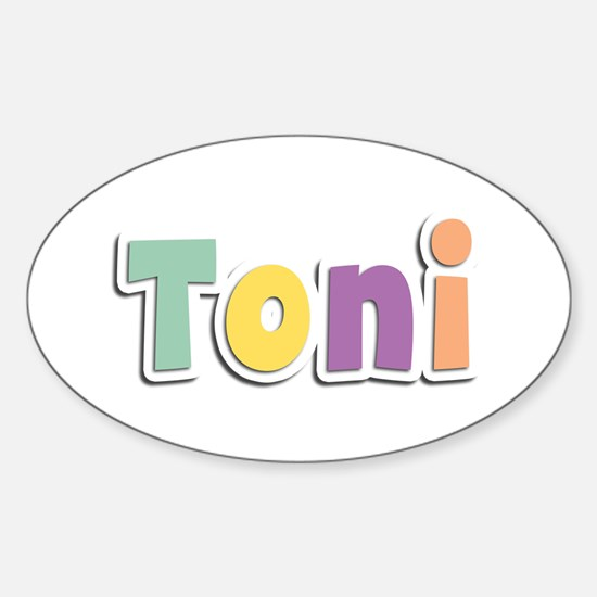 Toni Spring14 Oval Decal