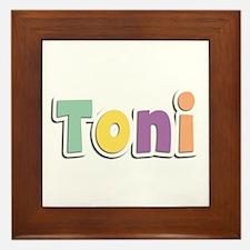Toni Spring14 Framed Tile