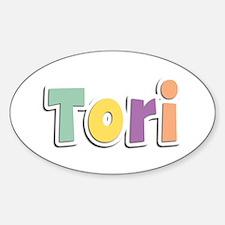 Tori Spring14 Oval Decal