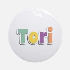 Tori Spring14 Round Ornament