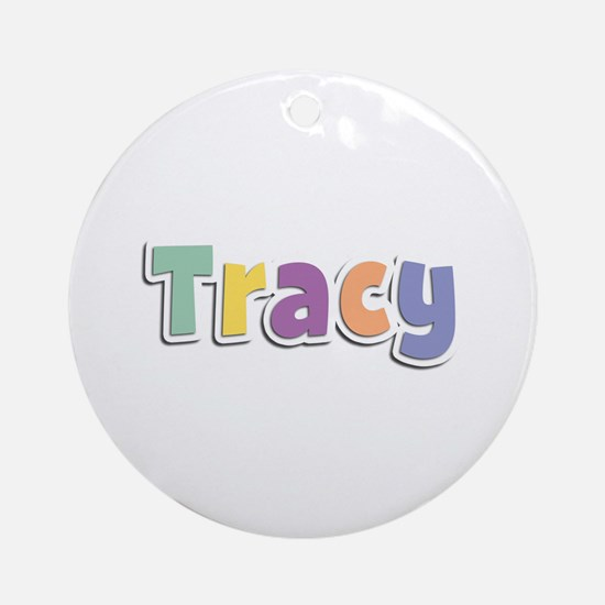 Tracy Spring14 Round Ornament