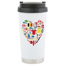Belgium World Cup 2014 Travel Mug