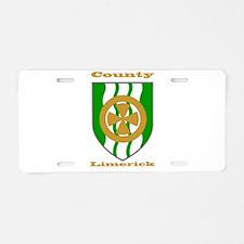 County Limerick COA Aluminum License Plate