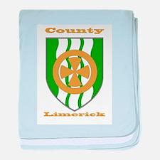 County Limerick COA baby blanket