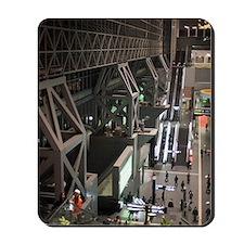 kyoto train station mall Mousepad