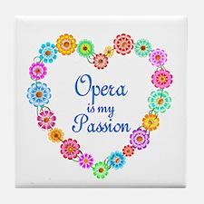 Opera Passion Tile Coaster