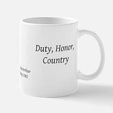 Duty, Honor, Country Mug Mugs
