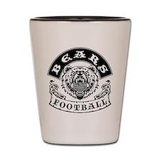 Bears Football Shot Glass