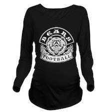 Bears Football Long Sleeve Maternity T-Shirt