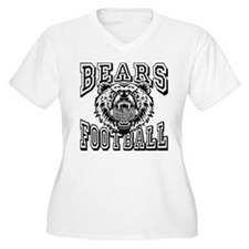 Bears Football Plus Size T-Shirt