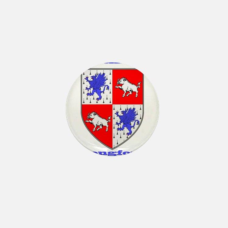 County Longford COA Mini Button