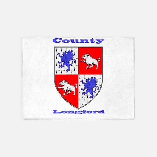 County Longford COA 5'x7'Area Rug