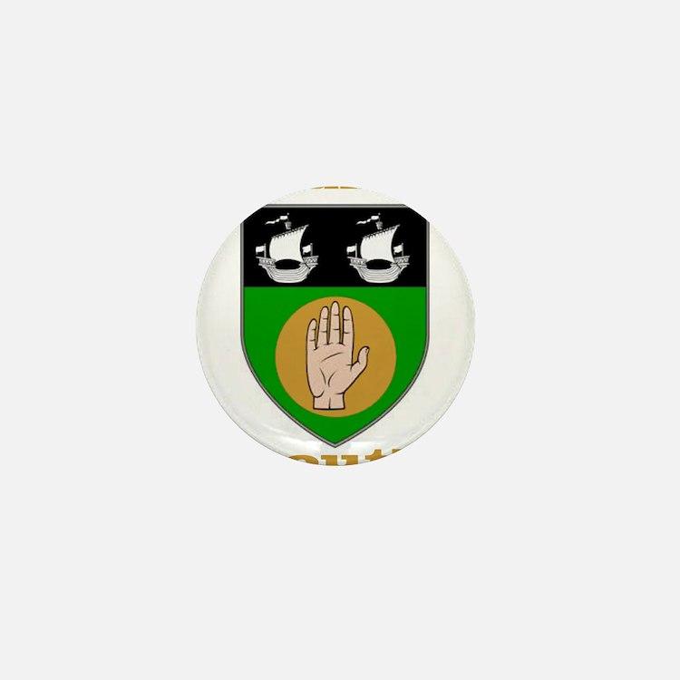 County Louth COA Mini Button