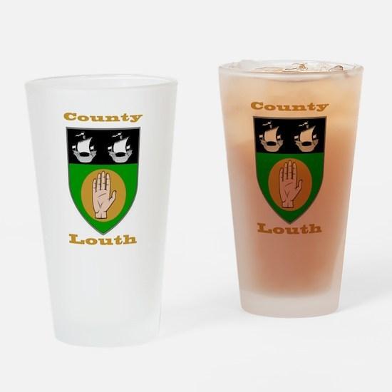 County Louth COA Drinking Glass