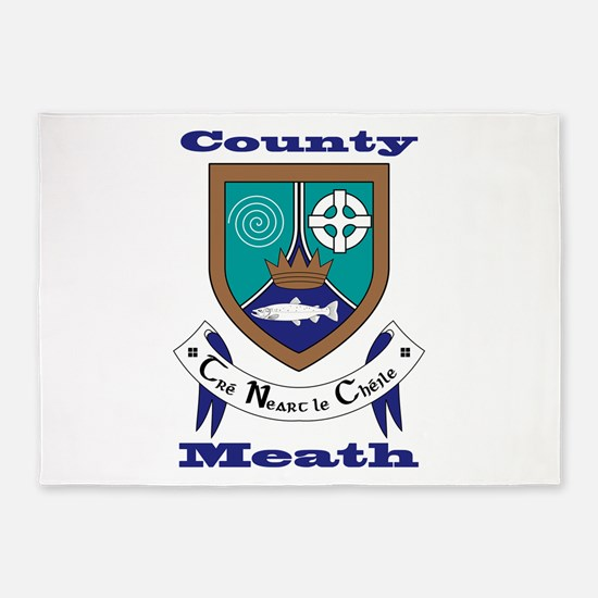 County Meath COA 5'x7'Area Rug