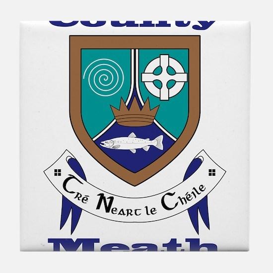County Meath COA Tile Coaster