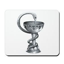 Bowl of Hygeia Mousepad
