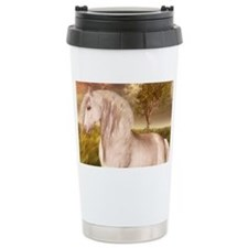 White Horse Travel Mug