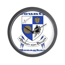 County Monaghan COA Wall Clock