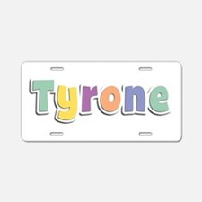 Tyrone Spring14 Aluminum License Plate