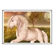 White Horse Banner