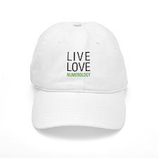Live Love Numerology Baseball Cap