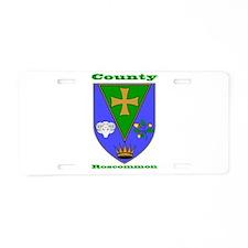County Roscommon COA Aluminum License Plate
