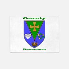County Roscommon COA 5'x7'Area Rug