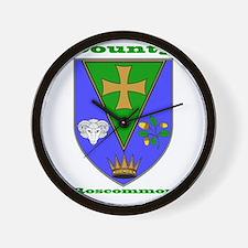 County Roscommon COA Wall Clock