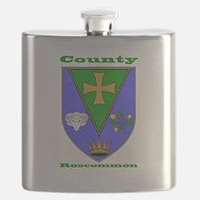 County Roscommon COA Flask