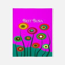 Busia FF 9 Throw Blanket