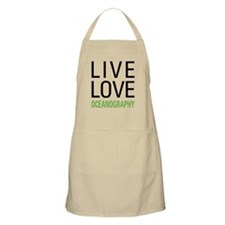 Live Love Oceanography Apron