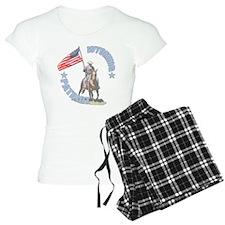 Wyoming Patriot Pajamas