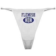 Flemish mom Classic Thong