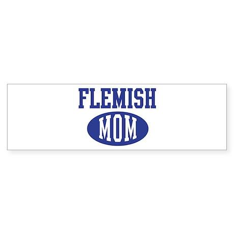 Flemish mom Bumper Sticker