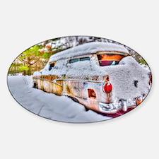 Snowed in Sticker (Oval)