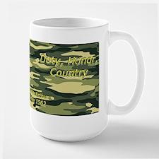 Duty, Honor, Country Mugs