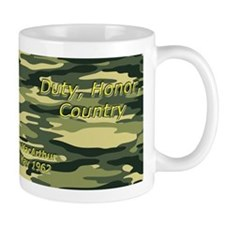 Duty, Honor, Country Mugs