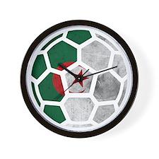 Algeria World Cup 2014 Wall Clock