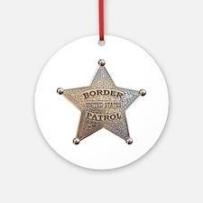 Border Patrol 1896 Ornament (Round)