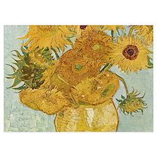 Van Gogh Sunflowers Invitations