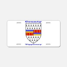 County Tipperary COA Aluminum License Plate