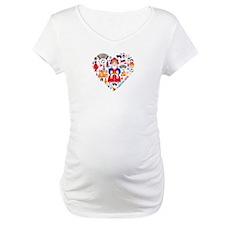 Russia World Cup 2014 Heart Shirt