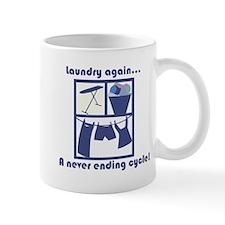 Laundry again... Mugs