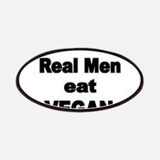 Real Men eat Vegan 2 Patches