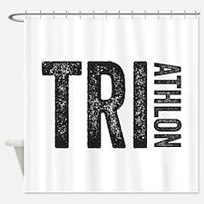 Triathlon Shower Curtain