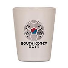 South Korea World Cup 2014 Shot Glass