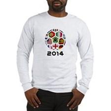 World Cup 2014 Long Sleeve T-Shirt