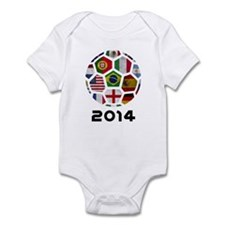 World Cup 2014 Infant Bodysuit
