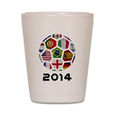 World Cup 2014 Shot Glass
